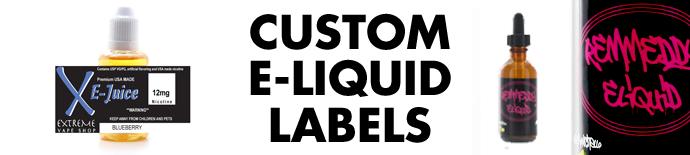 Custom E-Liquid Labels | LabelValue