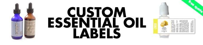 Custom Essential Oil Labels | LabelValue