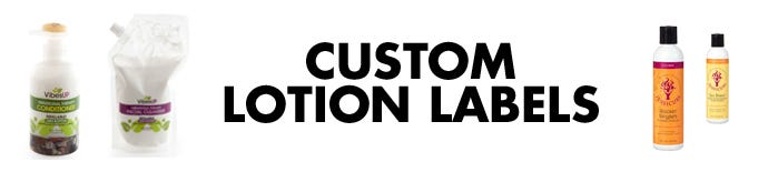 Custom Lotion Labels | LabelValue