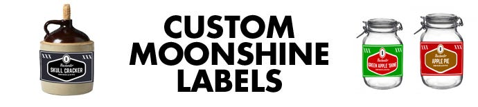 Custom Moonshine Labels | LabelValue