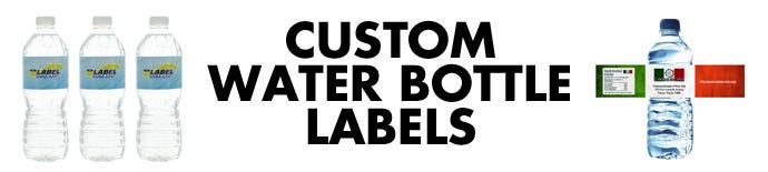 Custom Water Bottle Labels   LabelValue
