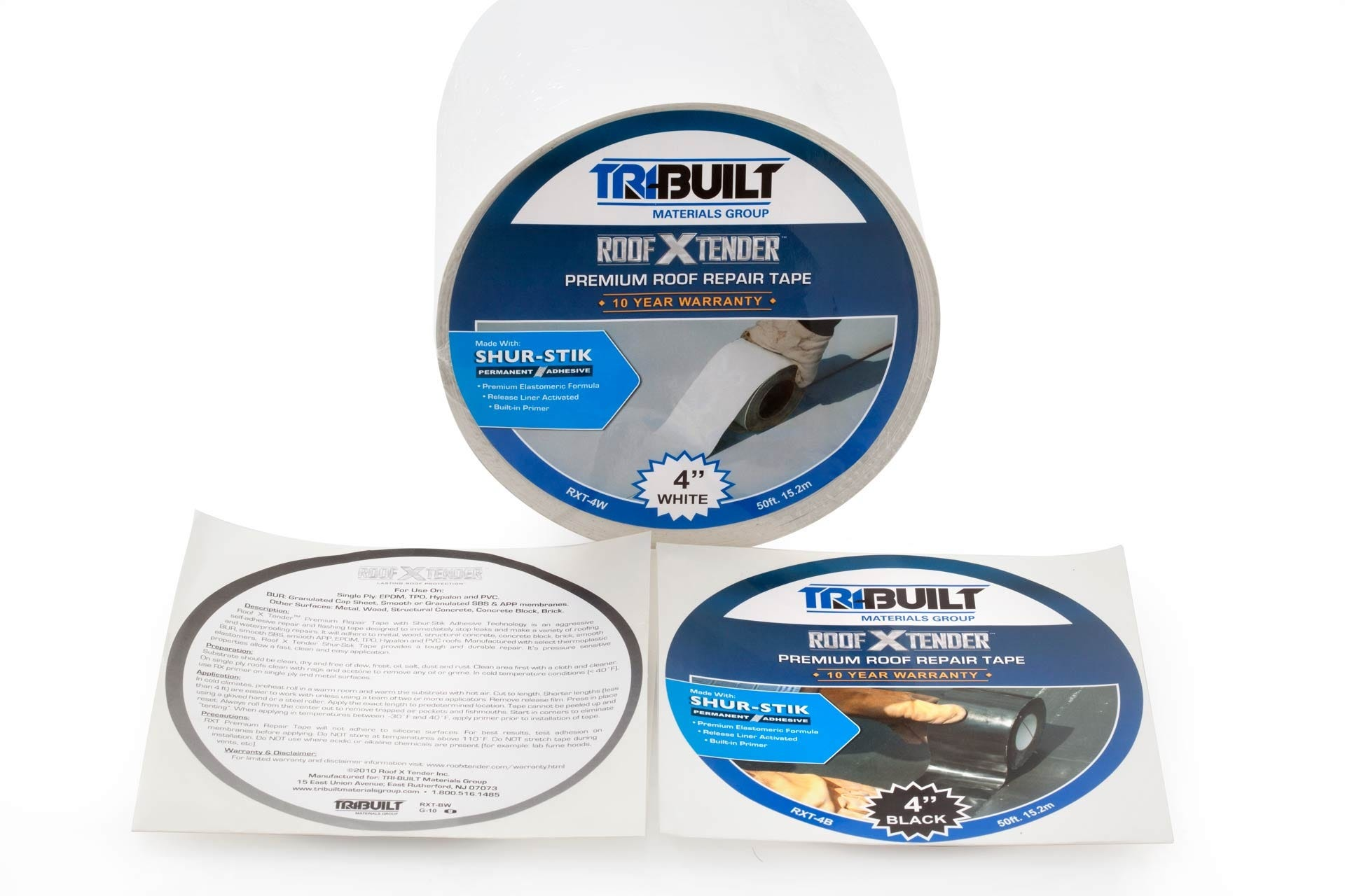 Custom Industrial Roofing Labels