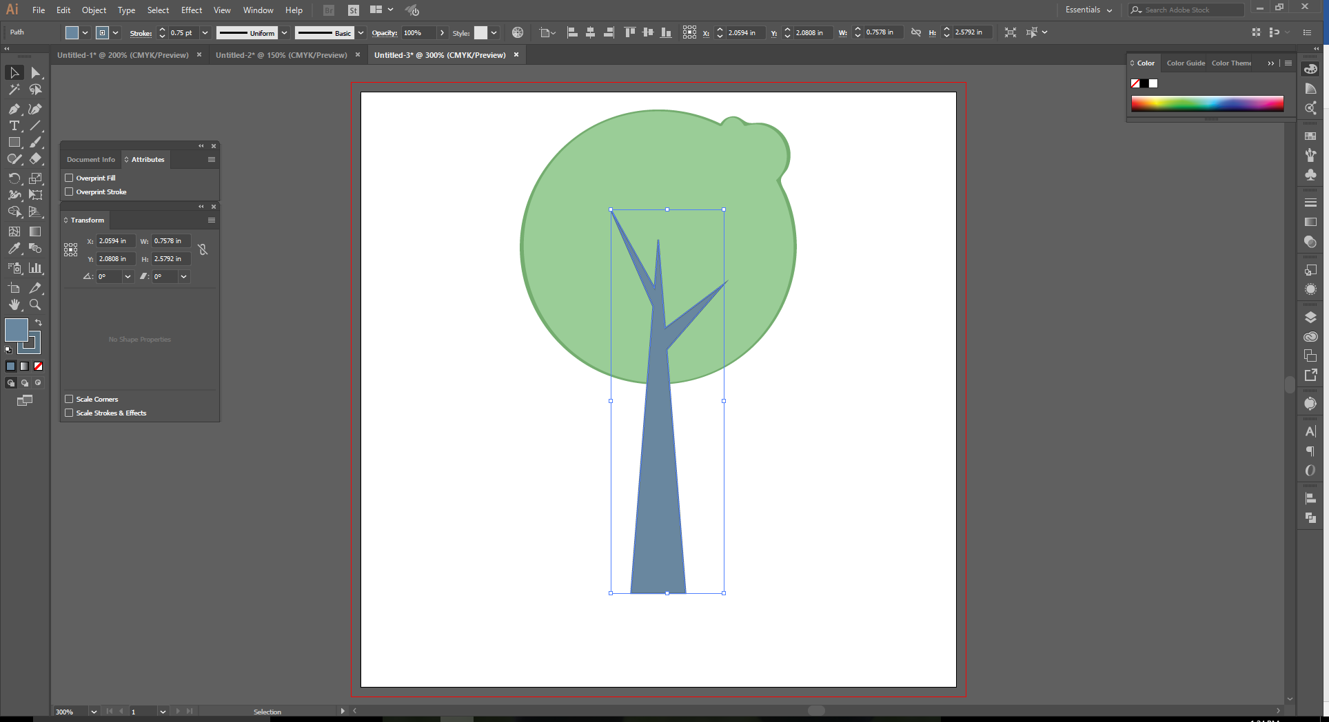 How to Use the Shape Builder tool in Adobe Illustrator