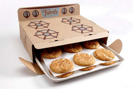 oven box cookies