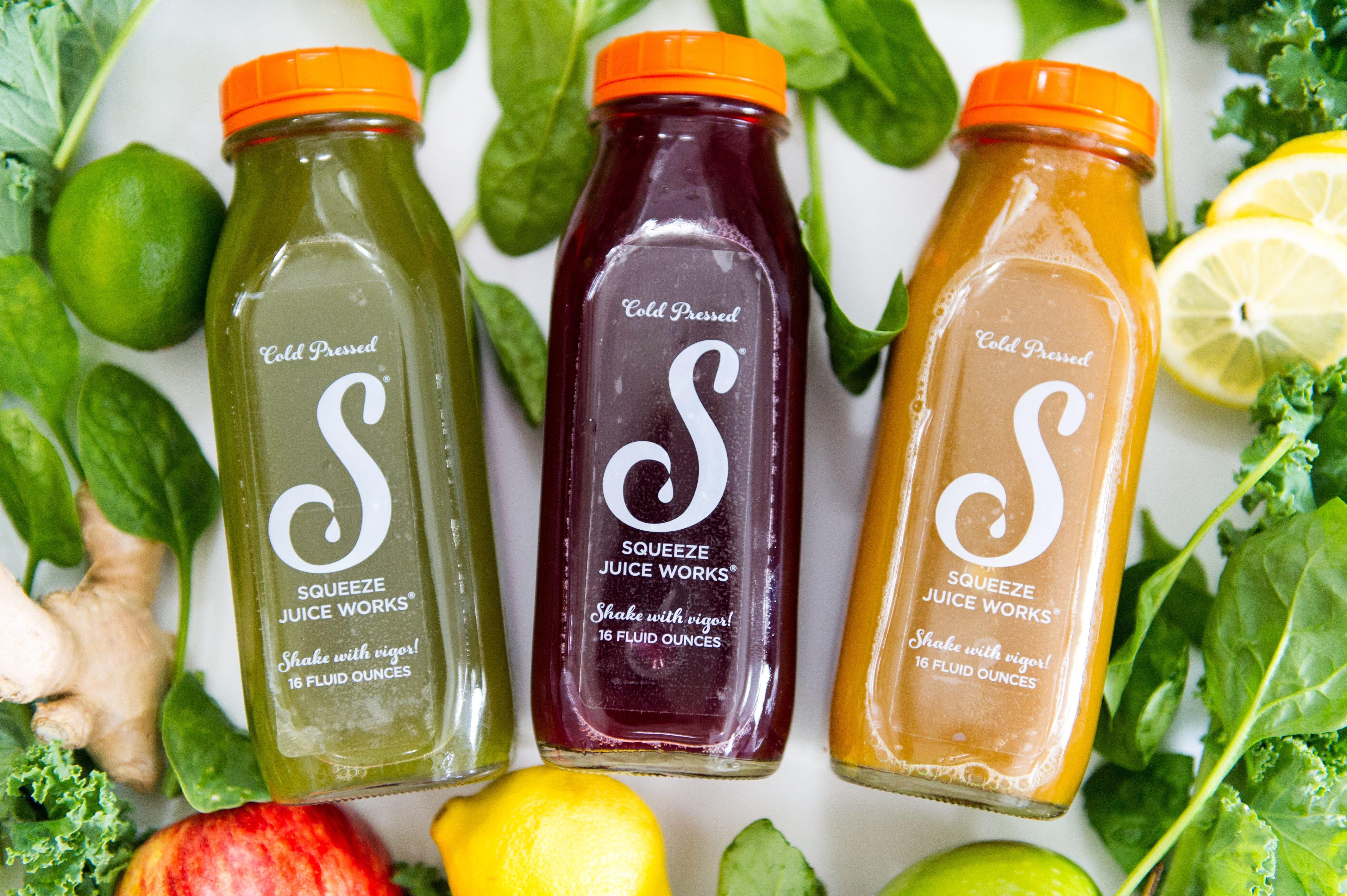 Clear BOPP Labels - Custom Juice Beverage Labels